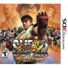 STREET FIGHTER IV 3D EDITION NINTENDO 3DS OYUN
