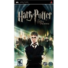 HARRY POTTER AND ORDER OF THE PHOENIX PSP OYUN