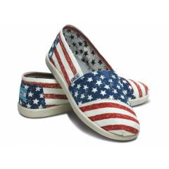 TOMS Stars and Stripes Youth