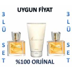 AVON �NCANDESSENCE 30 ML EDP VE V�CUT KREM�