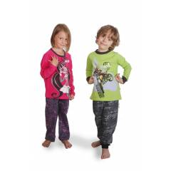 HotWheels Monster High �ocuk Pijama Tak�m�