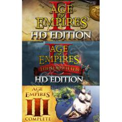 AGE OF EMPIRES COMPLETE LEGACY BUNDLE STEAM KEY