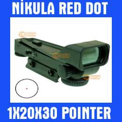 1X20X30 Nikula Red Dot Hedef Noktalay�c� 012
