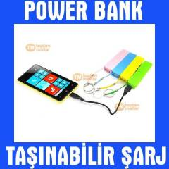 Power Bank 2600 Mah Portatif Harici Batarya �arj