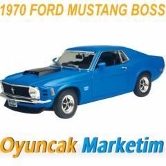 MOTORMAX 1:24 MODEL ARABA 1970 FORD MUSTANG BOSS