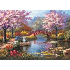 JAPANESE GARDEN �N BLOOM 1000 PAR�A PUZZLE