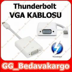 Apple Thunderbolt to VGA �evirici Kablo 10GBps