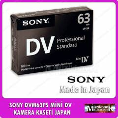 SONY DVM63PS M�N� DV  KAMERA KASET� JAPAN