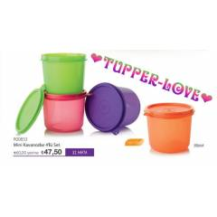TUPPERWARE M�N�K KAVANOZLAR 550 ML 4L� SET S�PER