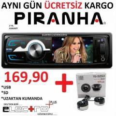 P�RANHA Charger Y Type US + SD + 3'' EKRAN