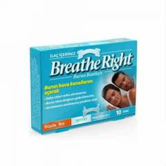 Breathe Right Burun Bantlar�-�effaf-B�y�k Boy-