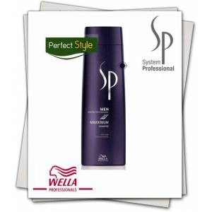 WELLA SP JUST MEN MAXXIMUM �AMPUAN 250 ml * YENI