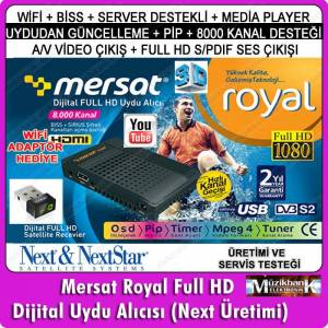 MERSAT ROYAL FULL HD M�N� UYDU  W�F� ADAPT�RL�