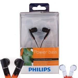 Philips in-ear SHE-4800 Kulakl�k Siyah #MG4125