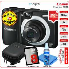 Canon Powershot A1400 16 MP 5x Zoom