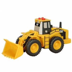 Cat Mini Sesli ve I��kl� Wheel Loader �� Makinas