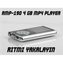 4 GB RADYOLU MP4 PLAYER 1,8 �N� EKRAN