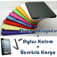iPad Air K�l�f Smart Cover �zel Tasar�m Stand