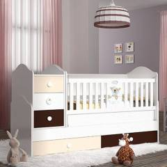 Babi Baby 1106B Bear 70X180 Fig�rl� B�y�yen Be�i