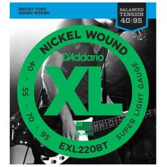 D'addario EXL220BT Nickel Wound, Balanced Tensio