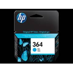 HP No: 364 Cyan Ink Cartridge with Vivera Ink CB
