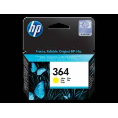 HP No: 364 Yellow Ink Cartridge with Vivera Ink