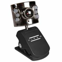 HIPER CAM WEBCAM USB 5.2MP 350K CMOS HIPER-4261
