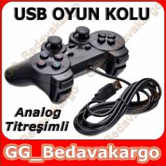 T�TRE��ML� USB OYUN KOLU ANALOG GAMEPAD