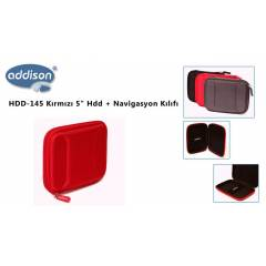 ADDISON HDD-145 KIRMIZI 5inc HDD + NAV�GASYON K