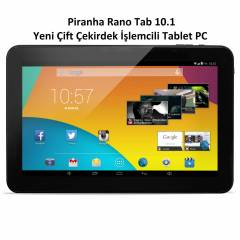 Piranha Rano Tab 10.1 �ift�ekirdek 8GB Tablet PC