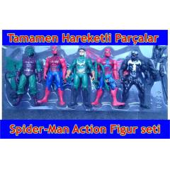 Spiderman Actionfigur5li Spider-Man �r�mcek adam