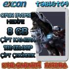 Excon 8Gb Tablet Pc �ift �ekirdek Klavyeli K�l�f