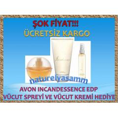 AVON INCANDESSENCE EDP 50 ML 3 L� SET