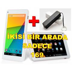 TABLET PC 7�N� CONCORD ��FT �EK�RDEK+POWER BANK