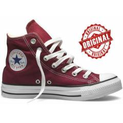 ORJ�NAL CONVERSE ALL STAR UZUN BORDO  AYAKKABI