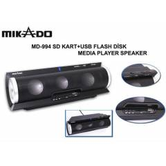 Mikado MD-994 SD+Usb MP3 �alan Hoparl�r 15W RMS