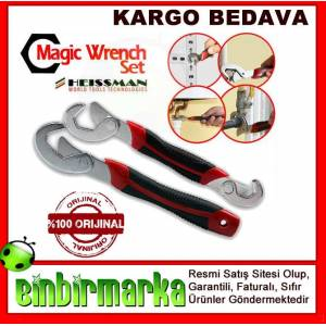 Heissman Magic �ngiliz Anahtar� Wrench Anahtar�