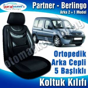 Berlingo Partner Koltuk K�l�f� 2+1L�ks Ortopedik