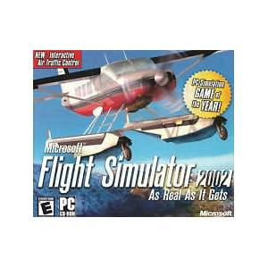 microsoft flight simulator 2002  Pc Oyun Orjinal