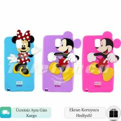 Samsung Galaxy Note 3 K�l�f Mickey Minnie Mouse
