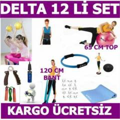 DELTA 12 L� P�LATES SET �EMBER M�NDER �P TW�STER