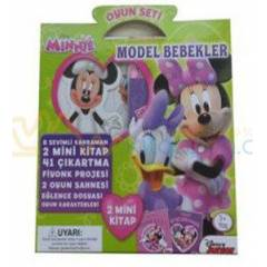 Disney Minnie Oyun Seti Model Bebekler