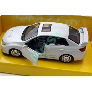 SUBARU WRX ST� D�E CAST METAL MODEL ARABA BEYAZ