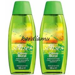 AVON SENSES CITRUS BURST DUŞ JELİ 500 ML(2 ADET)