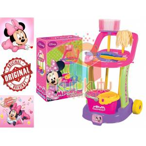 Minnie Mouse Vileda Oyuncak Seti Arabal� F�r�al�