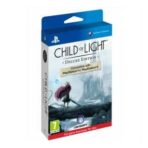 PS4 CHILD OF LIGHT DELUXE EDITION PS4 PS3 SIFIR