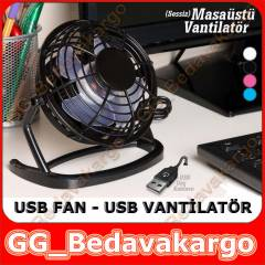MASA�ST� USB FAN VANT�LAT�R SO�UTUCU 5 RENK