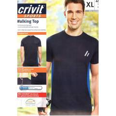 Crivit Sports Coolmax TSH�RT L Beden Siyah