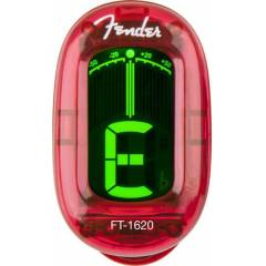Fender FT-1620 Candy Apple Red Clip-On Tuner