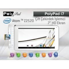 Poly Pad �7 �ntel ��lemcili 7' Android Tablet PC